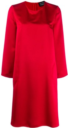 Gianluca Capannolo long sleeved shift dress