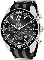Jivago Timeless Mens Black and Gray Strap Watch