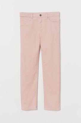H&M Corduroy Pants - Pink