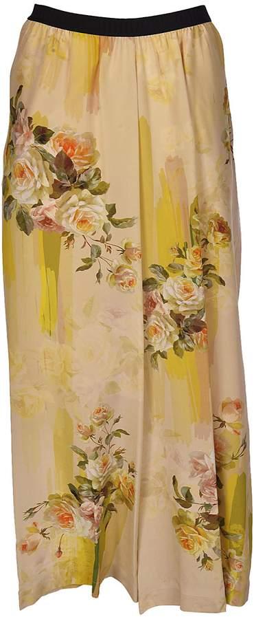 Antonio Marras Floral Print Trousers