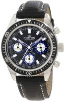 Fortis Men's 800.20.85 L.01 Marinemater Automatic Chronograph Leather Watch