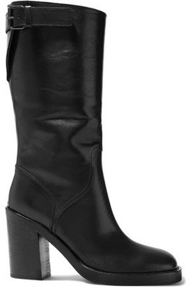 Ann Demeulemeester Buckled Leather Boots
