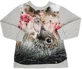 Molo Kids Photo-Real Graphic T-Shirt-GREY