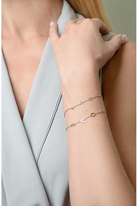 The Alkemistry Kismet by Milka 14ct rose gold Love bracelet