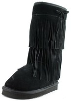 American Rag Asenecah Women Round Toe Suede Black Winter Boot.