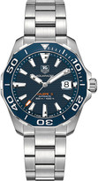 Tag Heuer WAY211CBA0928 aquaracer stainless steel watch