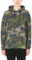Les (Art)ists Les Artists Cotton Camouflage Hoodie
