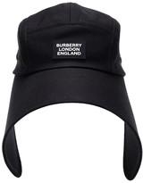Burberry Cotton-twill bonnet cap