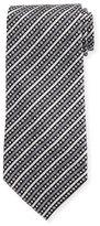 Stefano Ricci Fancy Stripe Printed Silk Tie
