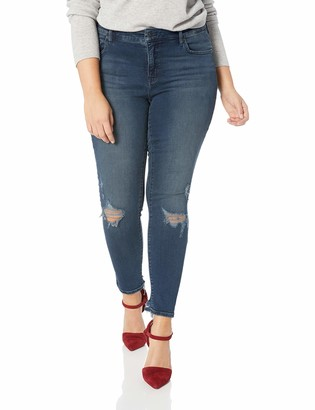 Lucky Brand Women's Plus Size MID Rise Lolita Super Skinny Jean in Palacios CHEW 24W
