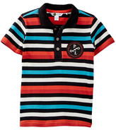 Petit Lem Knit Polo (Toddler Boys)