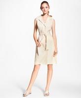 Brooks Brothers Linen Shirt Dress