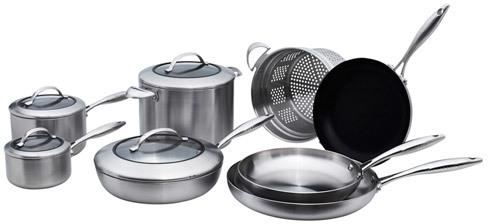 Scanpan CSX Cookware Set, 12 piece