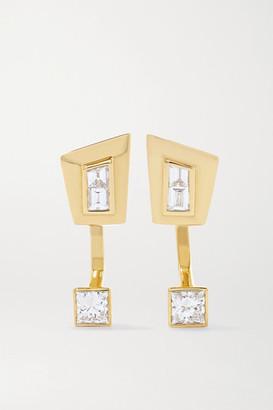 Stephen Webster + Net Sustain Dynamite 18-karat Recycled Gold Diamond Earrings - one size