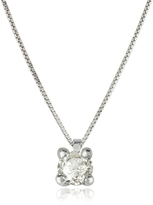 Forzieri 0.31 ctw Diamond Vanity Pendant 18K White Gold Necklace