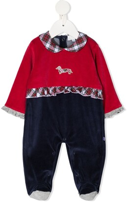 Harmont & Blaine Junior Checked Contrasting Details Pyjama