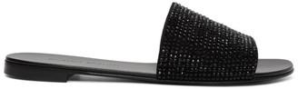 Giuseppe Zanotti Black Kanda Sandals
