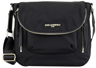 Karl Lagerfeld Paris CARA Flap Messenger