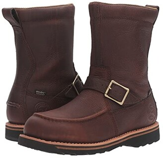 Irish Setter Wingshooter 9 Side Zip (Brown) Men's Work Boots