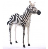The Well Appointed House Hansa Toys Standing Ride on Stuffed Zebra-ON BACKORDER UNTIL APRIL 2016