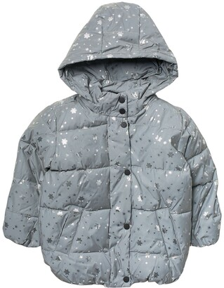 Urban Republic Reflective Puffer Coat