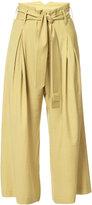 Vivienne Westwood high-waist, wide-leg trousers - women - Spandex/Elastane/Viscose/Wool - 38