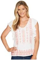 Sanctuary Ava Top Women's Short Sleeve Pullover