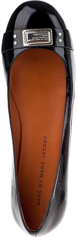 Marc by Marc Jacobs 635094 Ballet Flat Black Patent