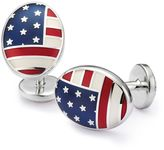 Charles Tyrwhitt US flag enamel cuff links
