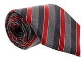 Gianfranco Ferre J052 U33 Grey/red Silk Mens Tie.