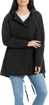 Bagatelle Packable High/Low Rain Jacket