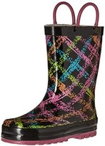Western Chief Scribble Plaid Rain Boot