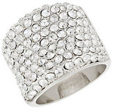 Michela Pave Encrusted Band Ring