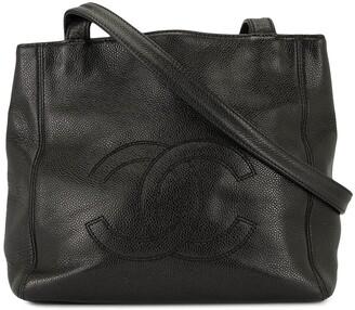 Chanel Pre-Owned CC logo shoulder bag