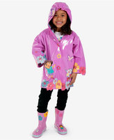 Kidorable Nickelodeon's Dora The Explorer Little Girls' or Toddler Girls' Raincoat