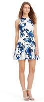 Ralph Lauren Floral-Print Drop-Waist Dress