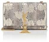 Saint Laurent Women's Monogram Kate Python Medium Chain Bag