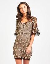 TFNC Embroidery Mini Dress