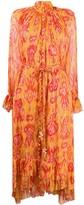 Zimmermann abstract print silk dress