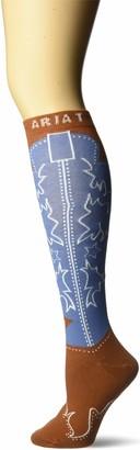 Ariat Women's Calf Boot Novelty Sock Casual