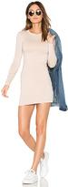Blq Basiq Mini Long Sleeve Dress