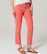 LOFT Tall Modern Kick Crop Jeans