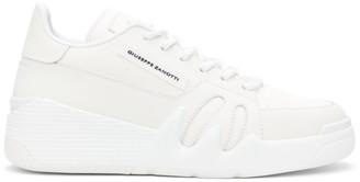 Giuseppe Zanotti White Jupiter Talon Sneakers