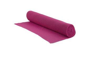 "WFX Utility Shelf Grip Liner (Set of 4) WFX Utility Size: 18"" H x 60"" W x 0.25"" D, Color: Pink"