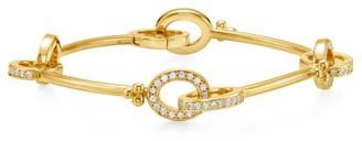 Temple St. Clair Orsina 18K Yellow Gold & Diamond Link Bracelet