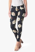7 For All Mankind Ankle Skinny In Calypso Floral
