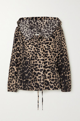 Dries Van Noten Leopard-print Shell Jacket - Leopard print