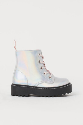 H\u0026M Silver Girls' Shoes | Shop the