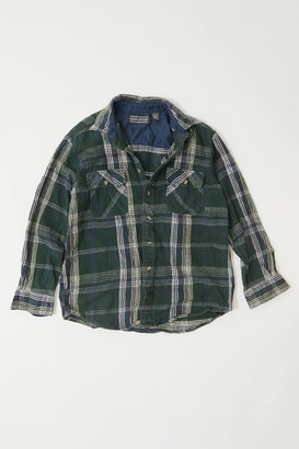 Urban Renewal Vintage Oversized Heavy Weight Flannel Shirt