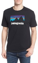 Patagonia Men's Shop Sticker Regular Fit T-Shirt